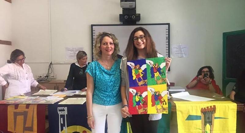 La vincitrice del MINIPALIO 2016 Francesca Bordi