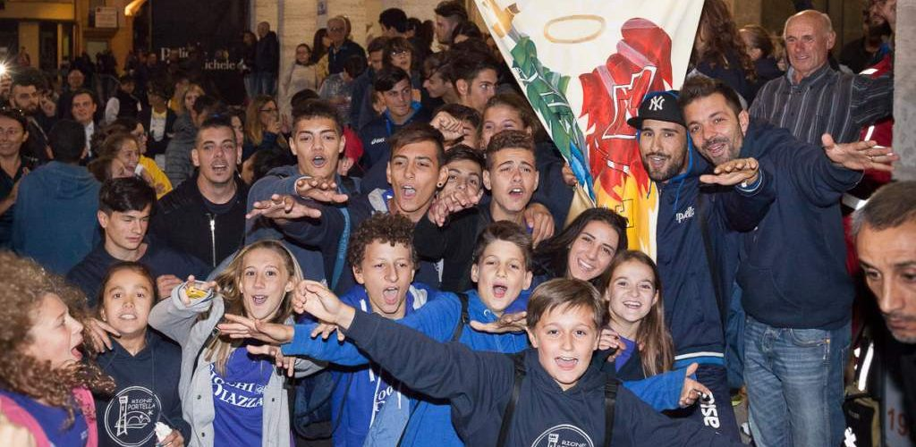 Minipalio 2015 - Vince il Rione Portella