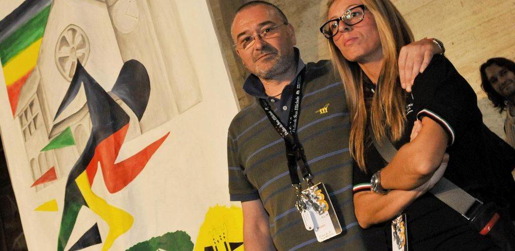 Presidente Marco Gnavolini e il coordinatore Vanessa Capocchia