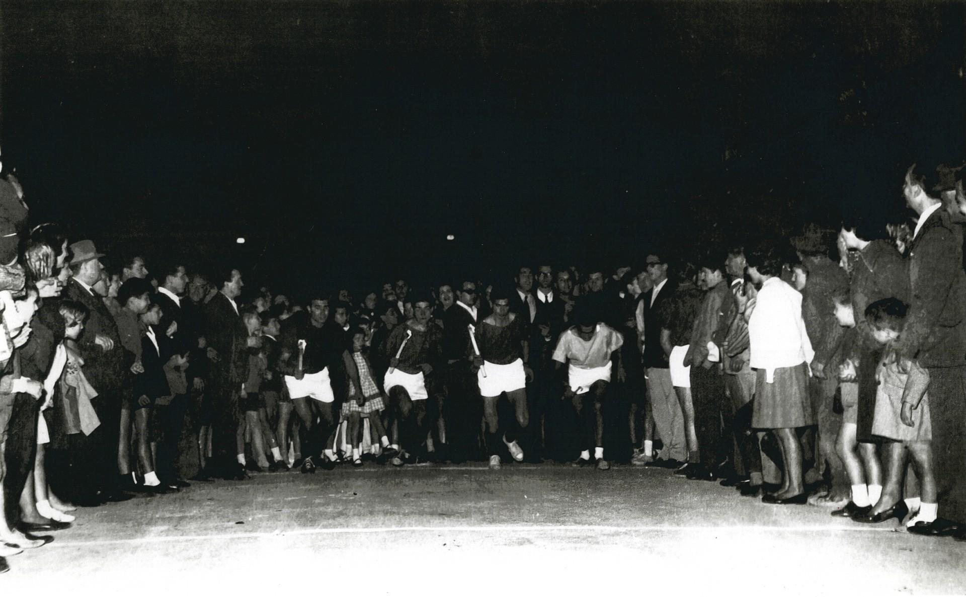 1963_PARTENZA PRIMA LIZZA Palio de San Michele