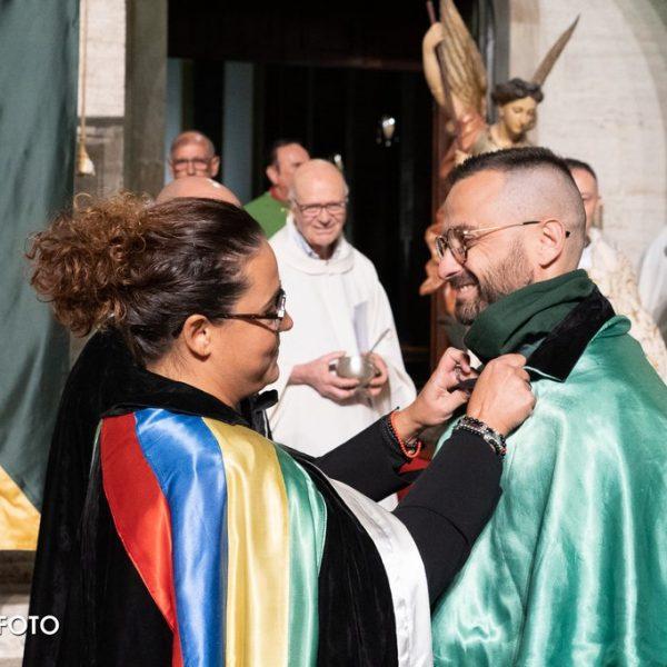 2019 Cerimonia d'Apertura - Federica Moretti e Simone Ridolfi, capitano di San Rocco