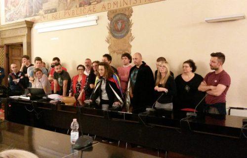 Federica Moretti e il Consiglio Direttivo