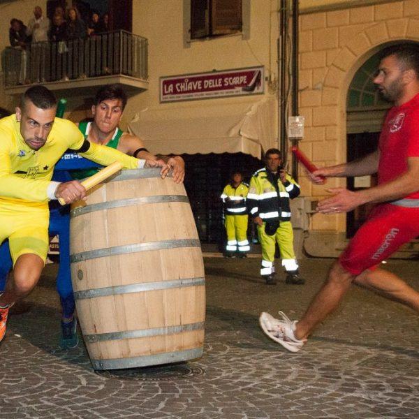 Lizza 2017 - Nicola Ciancabilla di Sant'Angelo al primo bidone