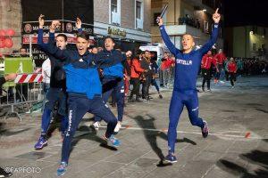Davide Falcinelli taglia il traguardo per primo, lizza 2018 al Rione Portella