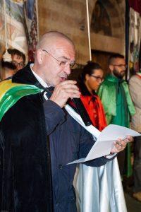 Il Presidente dell'Ente Palio Marco Gnavolini