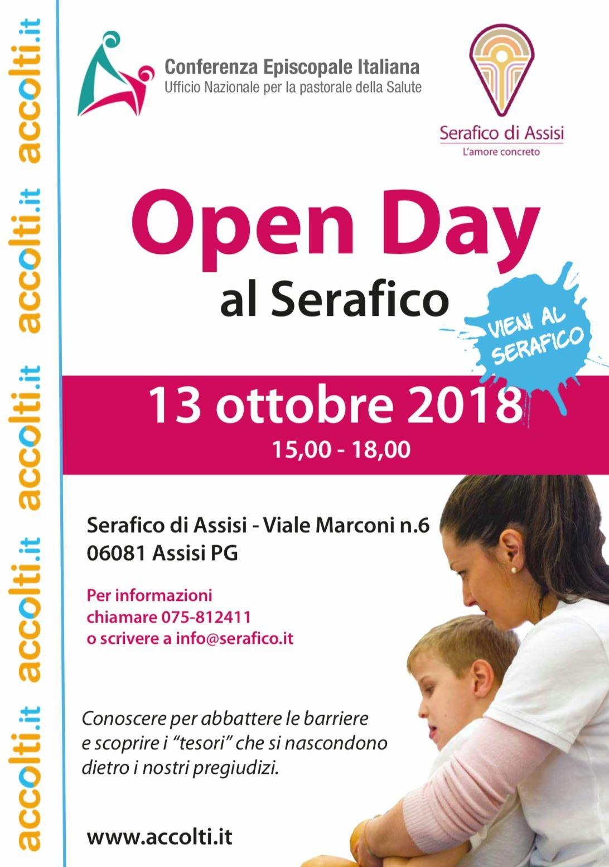 Open Day al Serafico