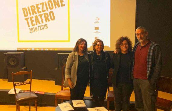 Roberta Rosati, Paola Lungarotti, Federica Moretti e Roberto Costantini - DIREZIONE TEATRO