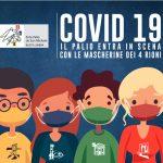 Covid19 | Il Palio entra in scena con le mascherine dei 4 rioni